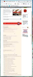 service de saisie des fiches de traitement du registre des traitements