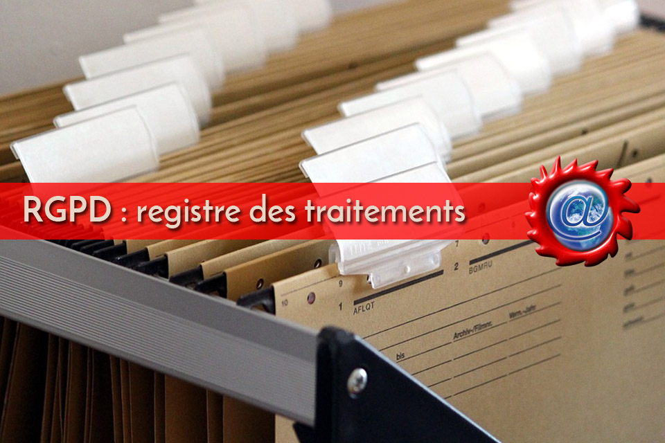 Registre des traitements RGPD