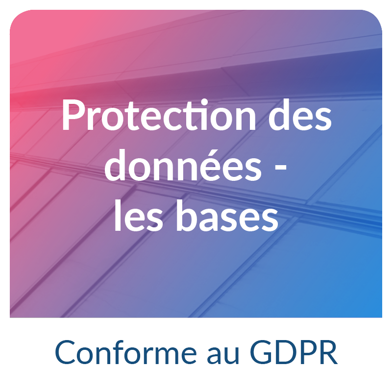 RGPD cybersécurité : les bases